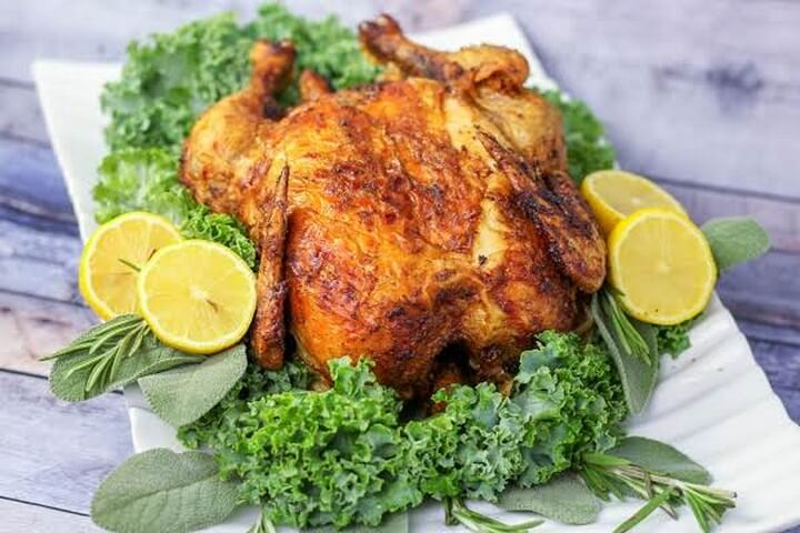 Air Fryer Rotisserie Chicken 1