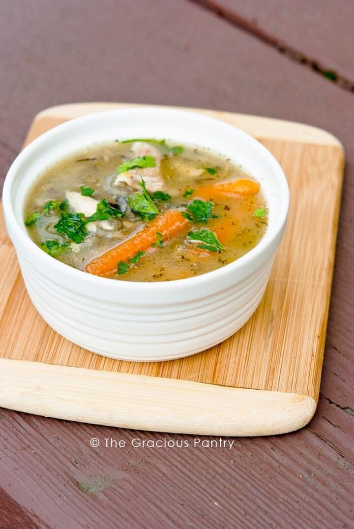 Clean Eating Chicken Stock