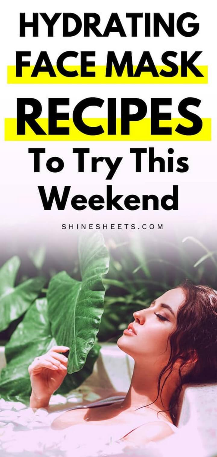DIY Hydrating Face Mask Recipe