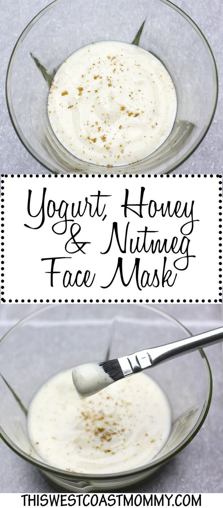 DIY Yogurt Honey and Nutmeg Face Mask