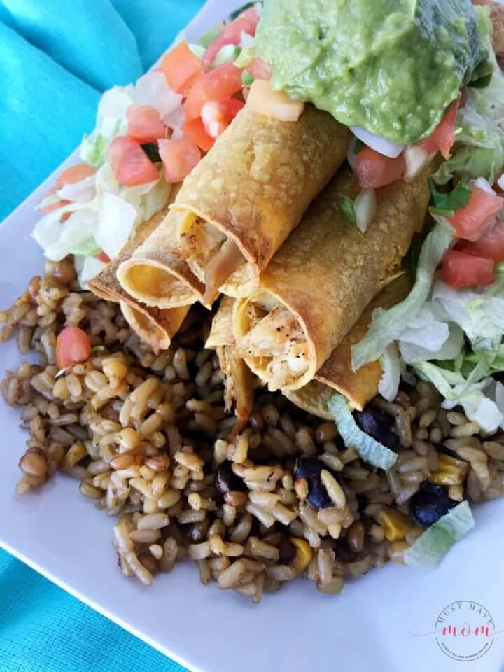Kids Cooking Chicken Taquito Recipe