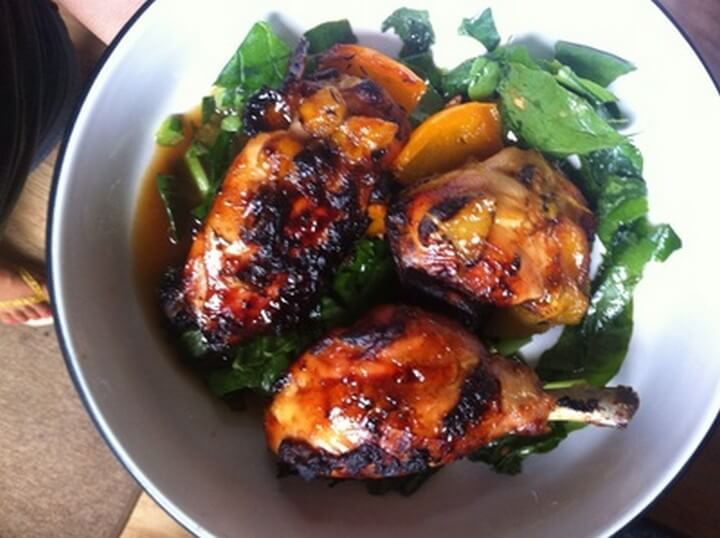 Lime Thyme and Mango Chicken Recipe