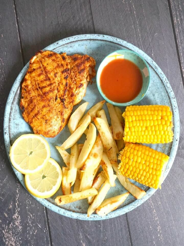 Nandos Style Peri Peri Butterfly Chicken Breast