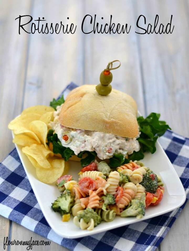 Rotisserie Chicken Salad Flour