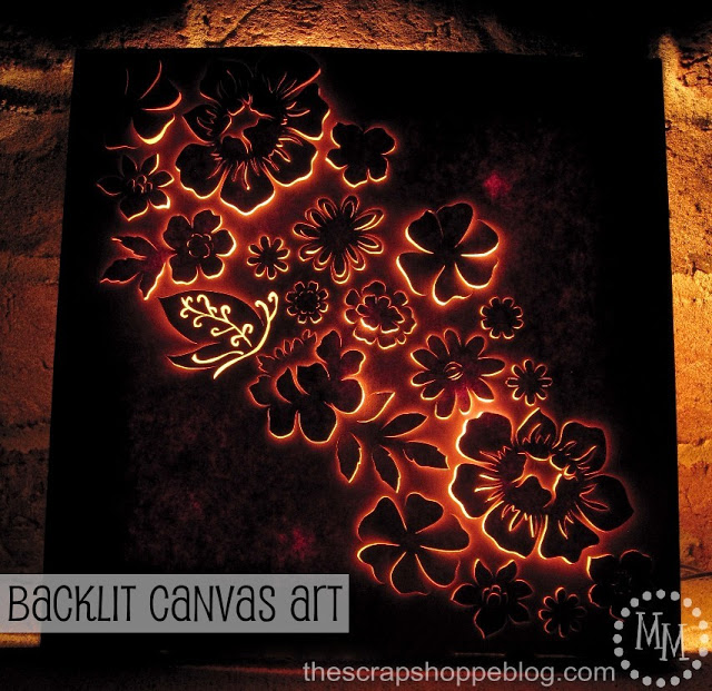 Backlit Canvas Flora And Fauna Wall Art
