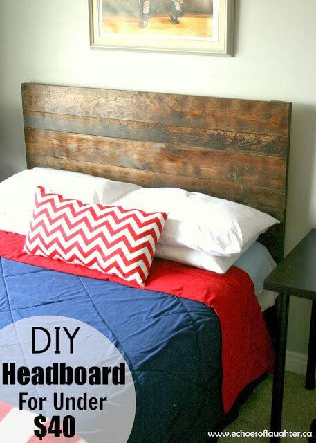DIY Headboard Under 40