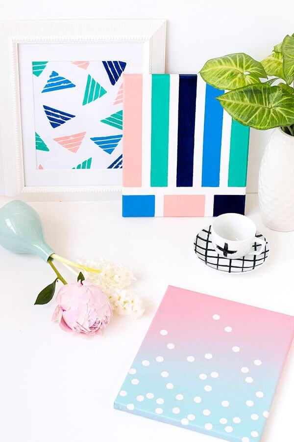 DIY Simple Wall Art