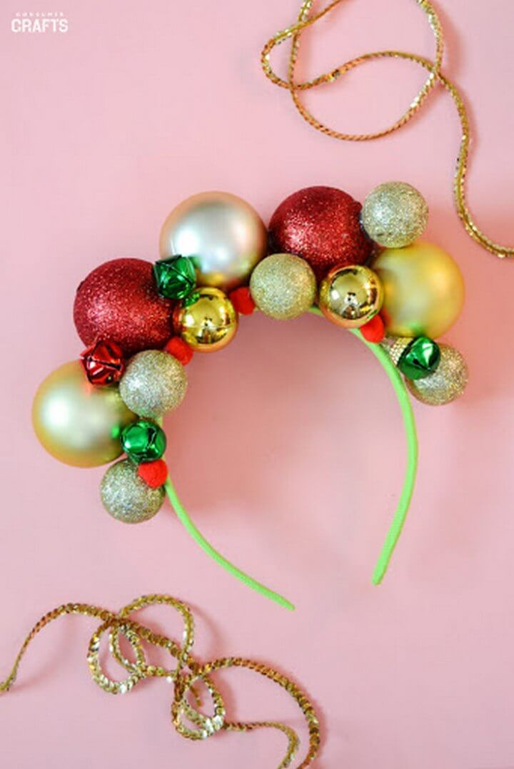 DIY Ugly Christmas Headband