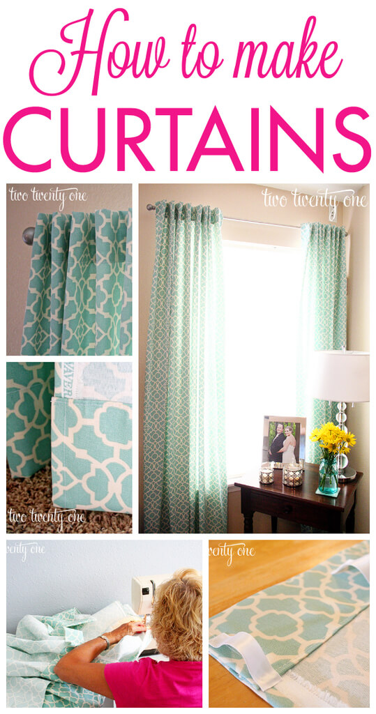How to Make Curtains DIY