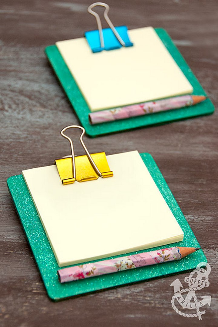 Mini Coaster Clipboards – 30 Minute Crafts