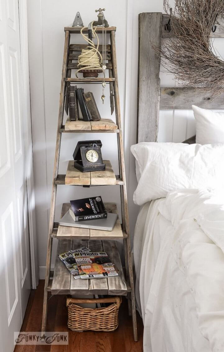 Unite with a Stepladder Side Table