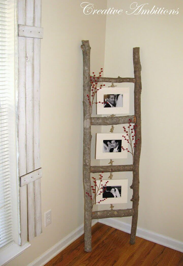 Photo Ladder DIY