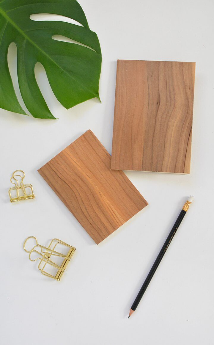 Wood Notebooks DIY