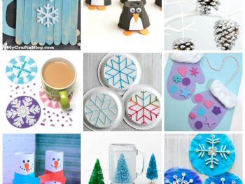 All About Winter Crafts for the Kids