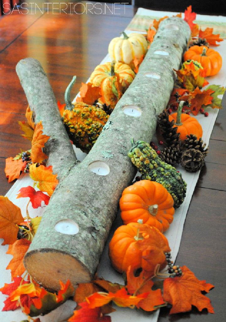 5 Minute Autumn Centerpiece