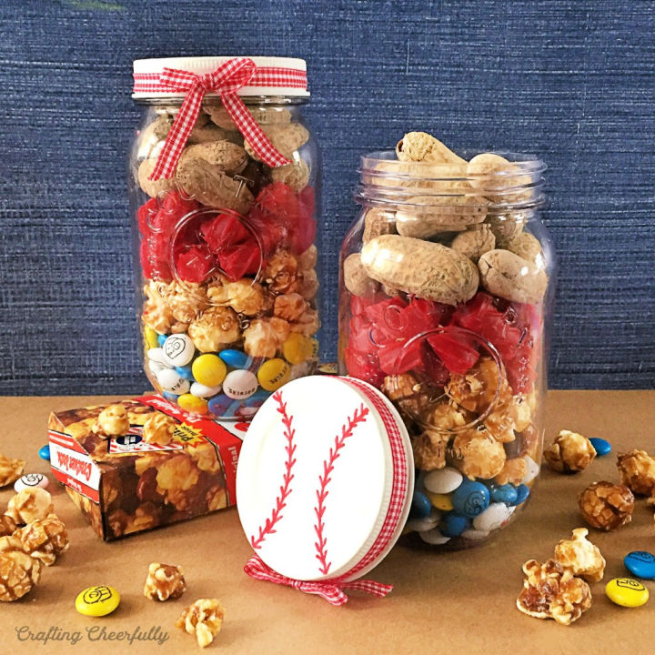 Baseball Mason Jar Gifts