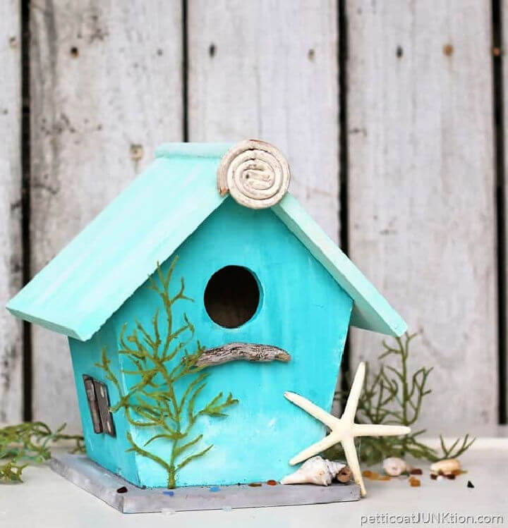 Beach Inspired Birdhouse