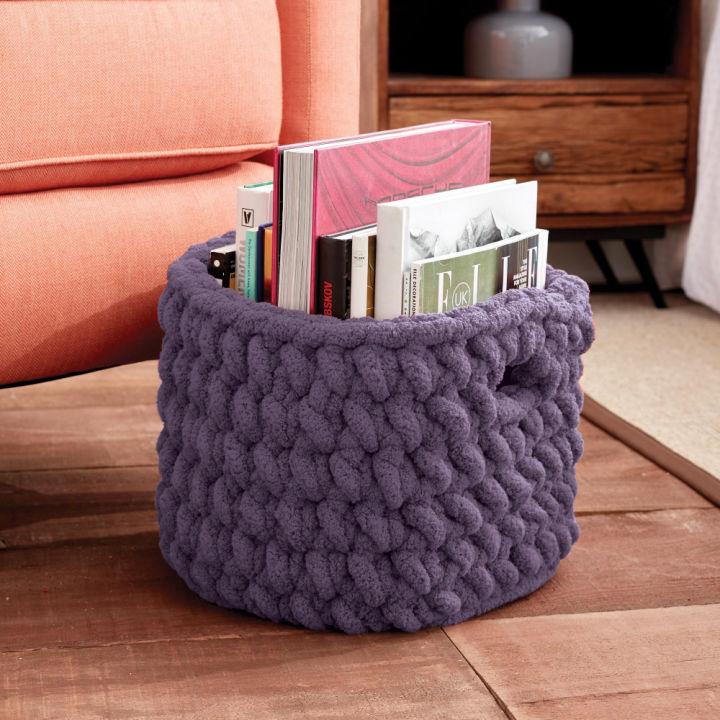 Bernat Burly Crochet Basket