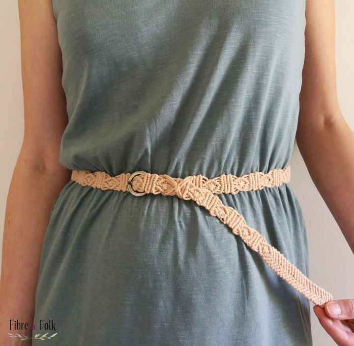 Boho Macrame Belt