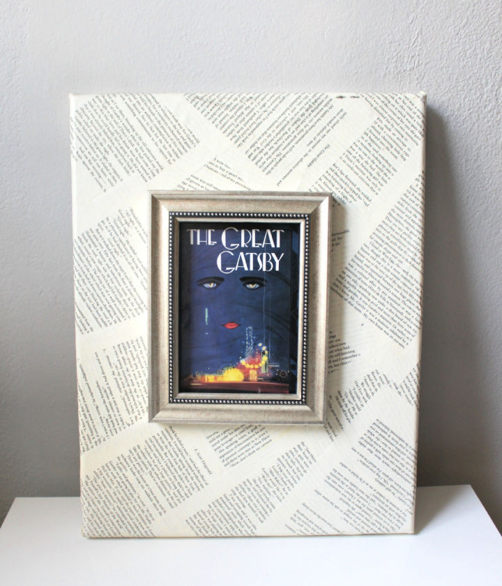 Book Page Canvas Art