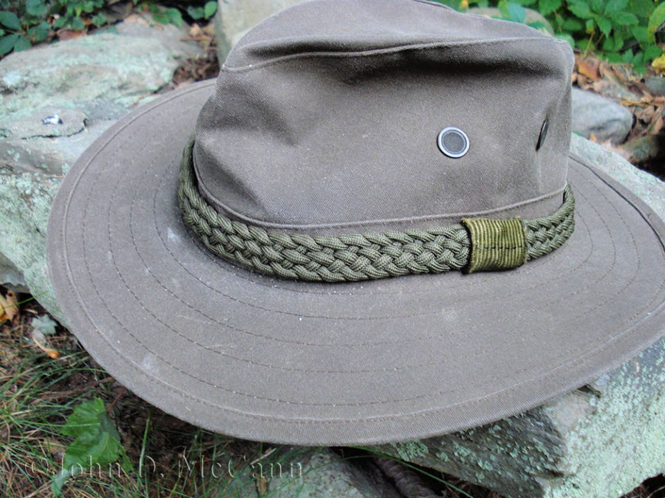 Braided Paracord Hatband