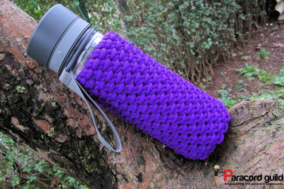 Chain Sinnet Paracord Bottle Wrap