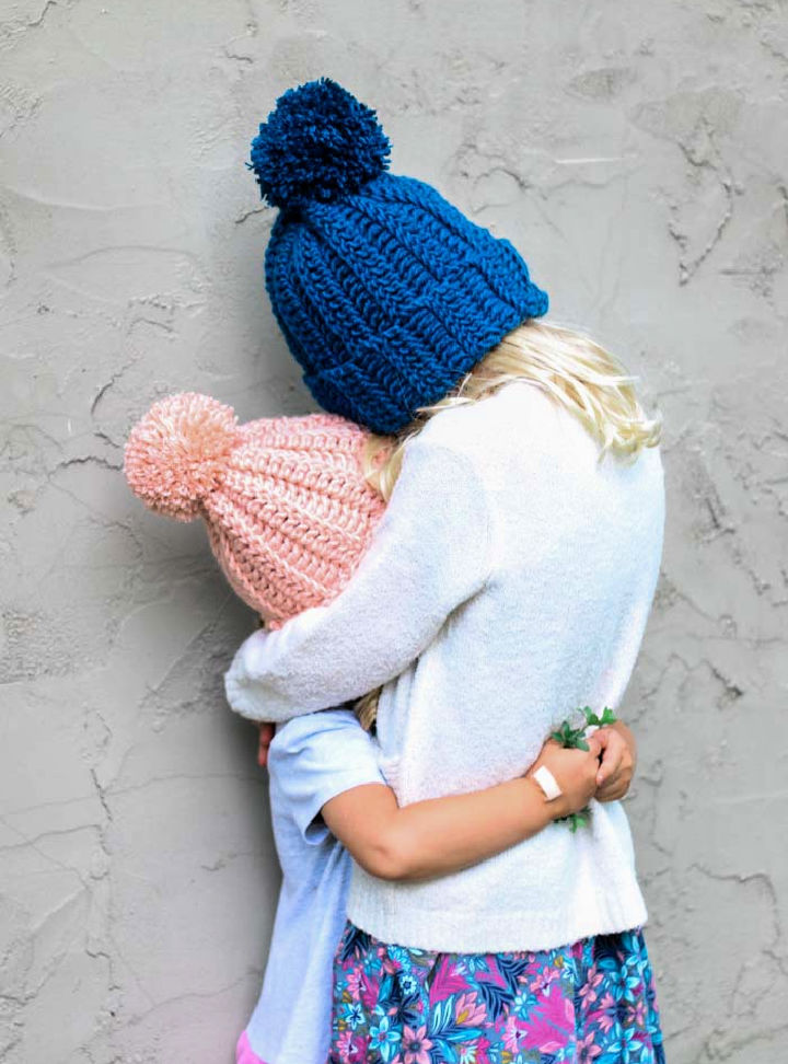Childs Crochet Hat Pattern