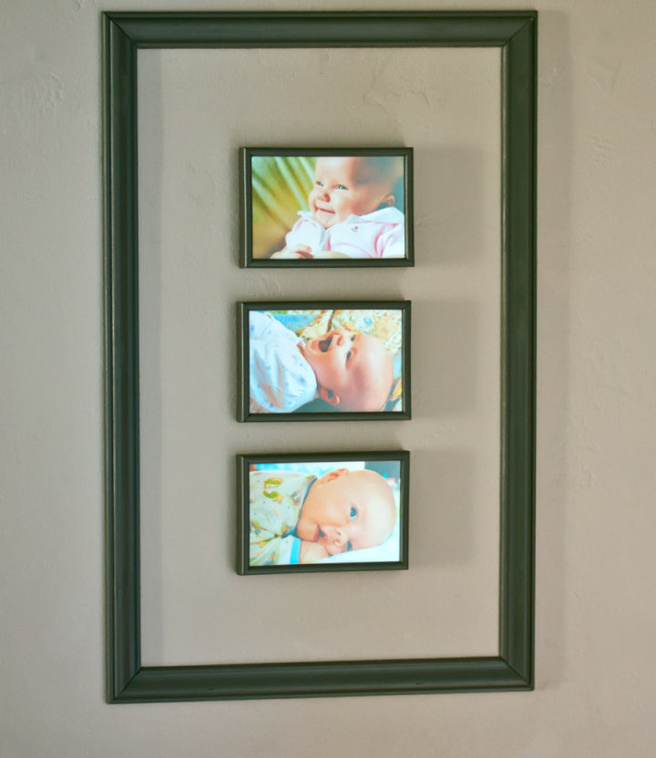 Collage Frame of Baby Photos