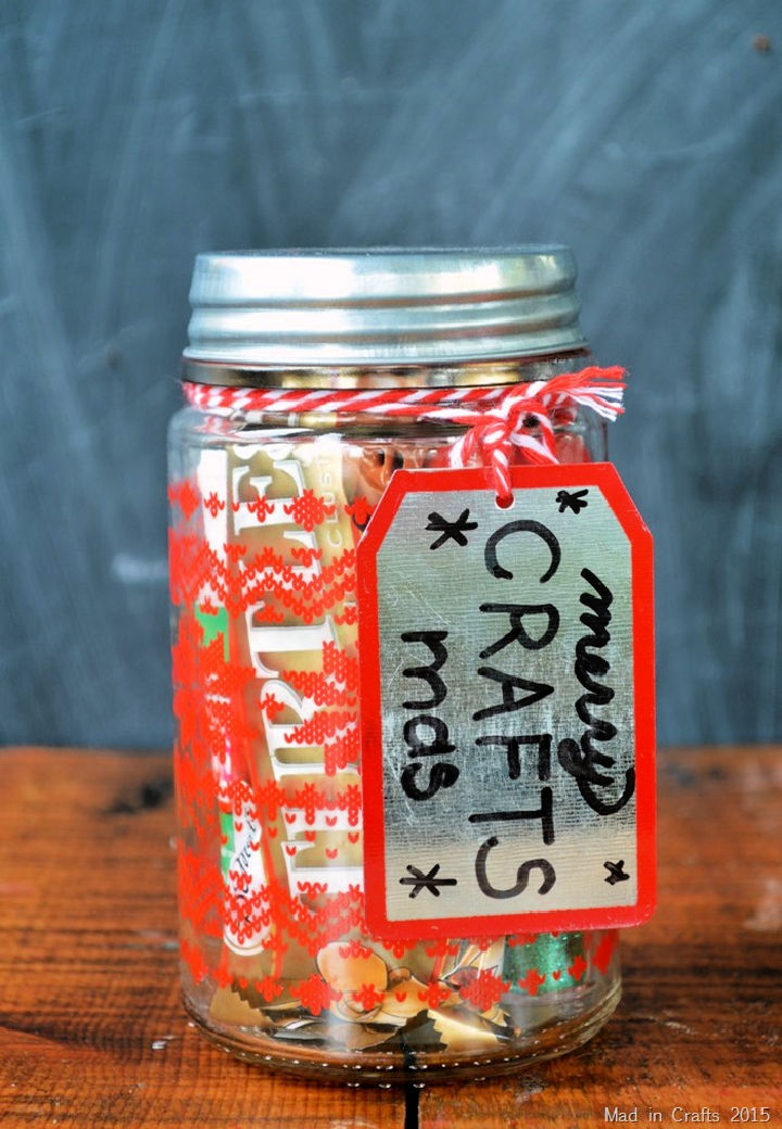 Crafter Gift in a Jar