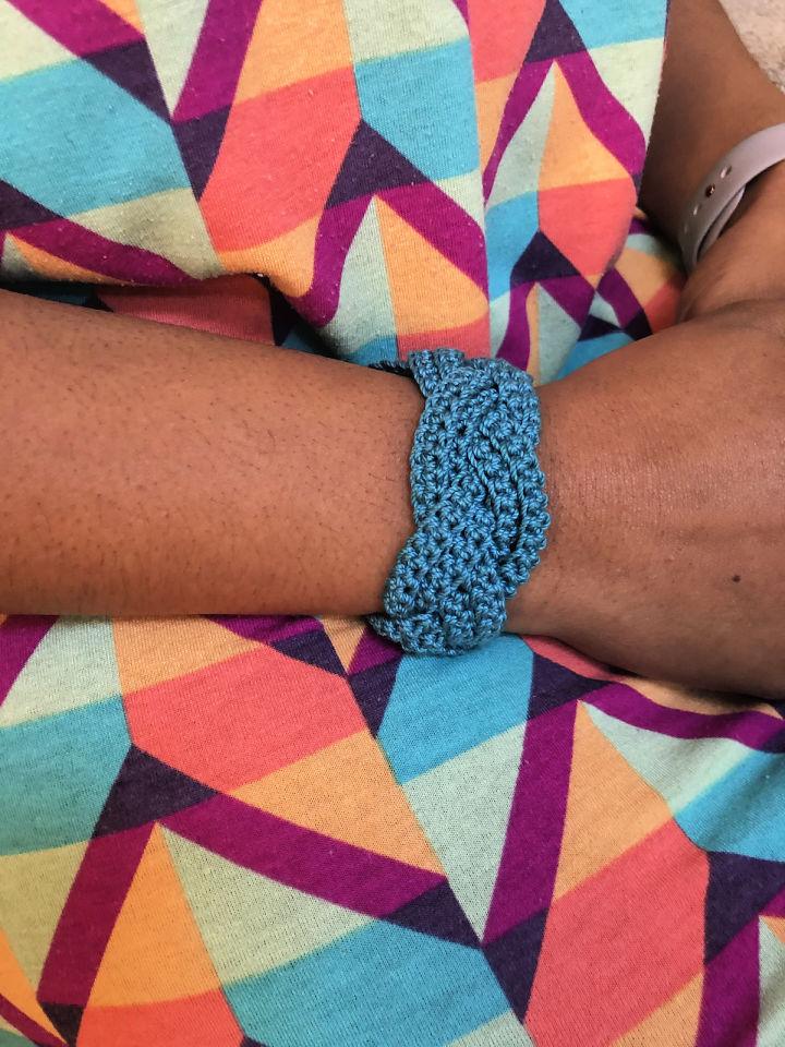 Crochet Braided Bracelet