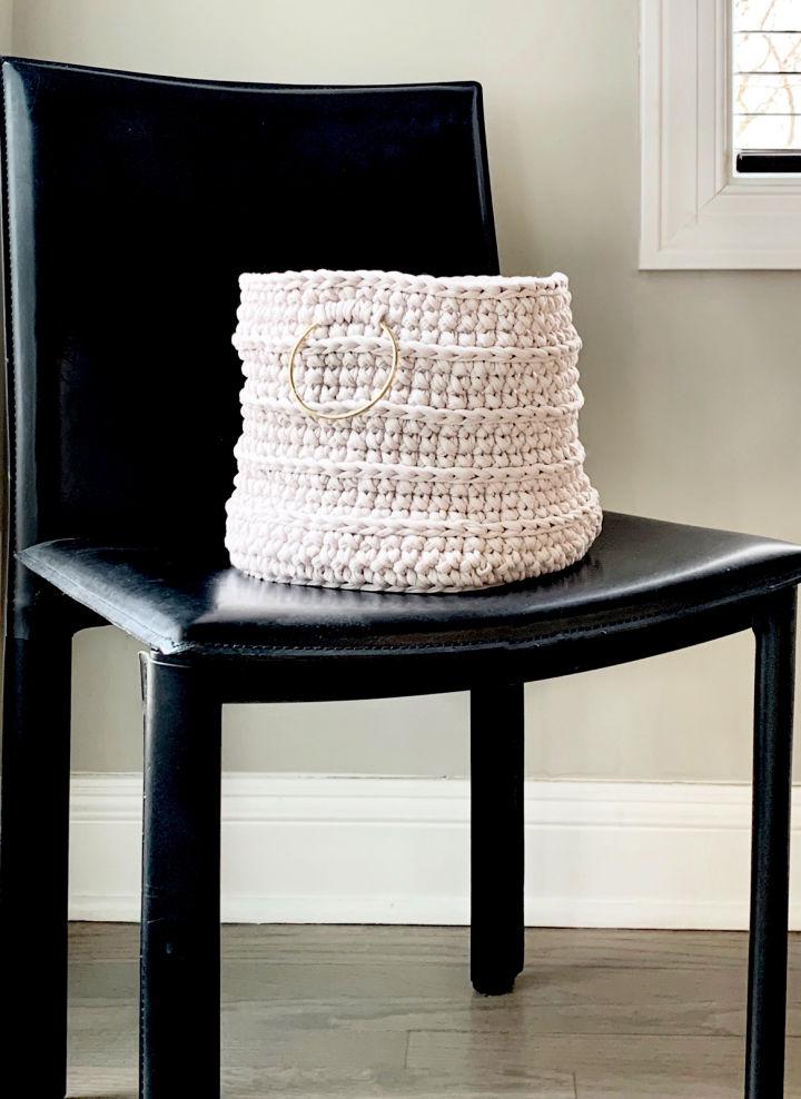 Crochet Cestino Basket
