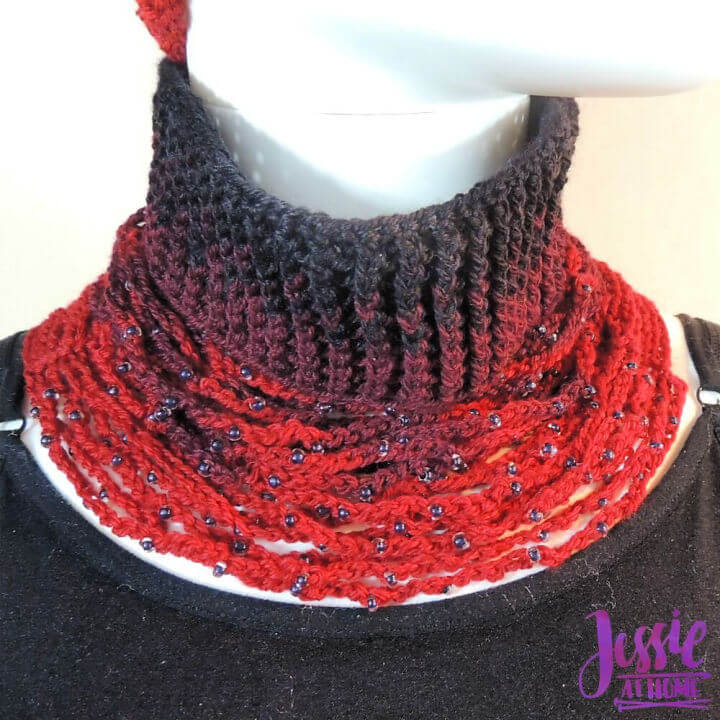 Crochet Chrissy Neck Warmer