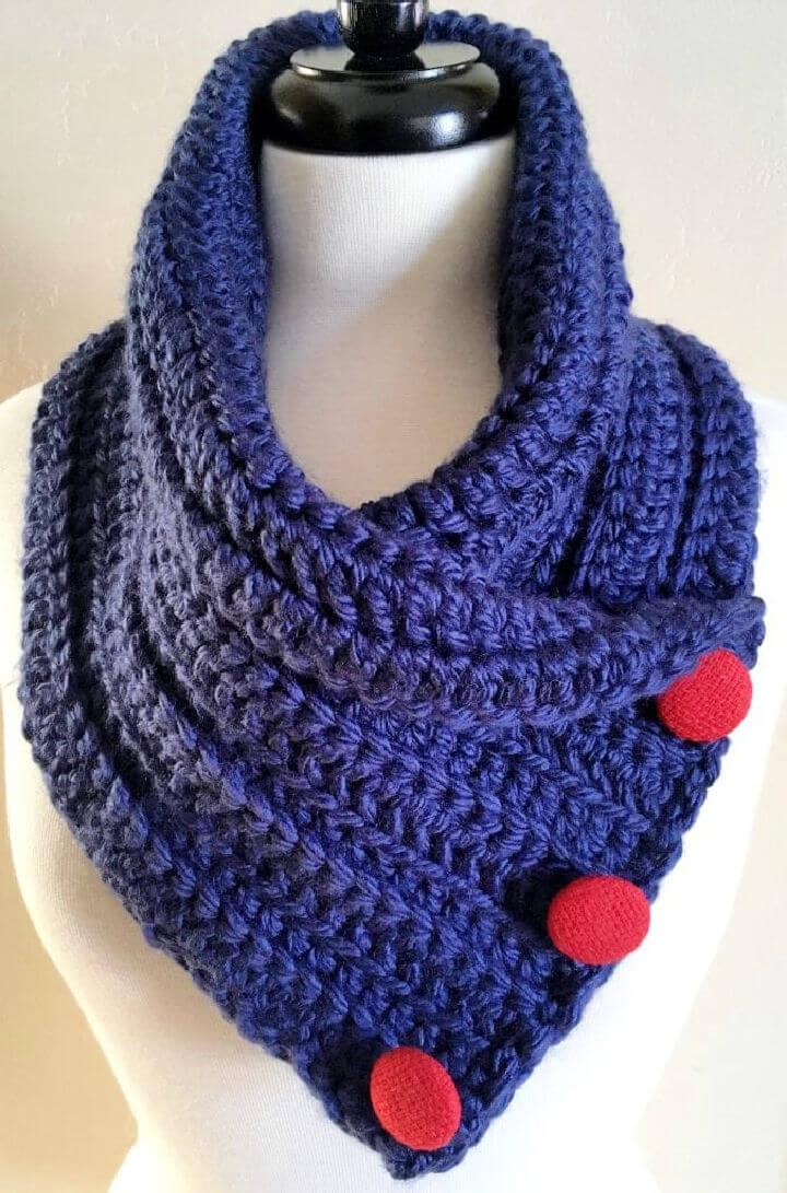 Crochet Chunky Neck Warmer