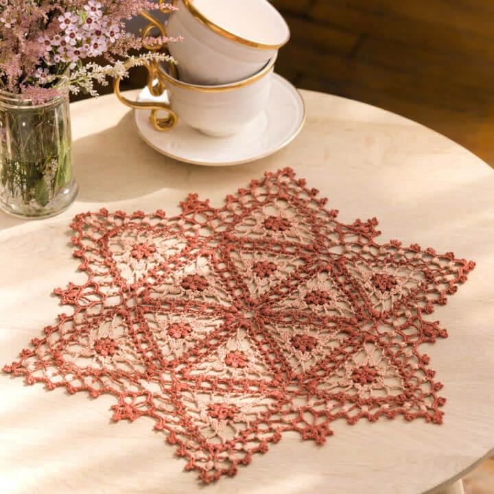 Crochet Fairfax Doily