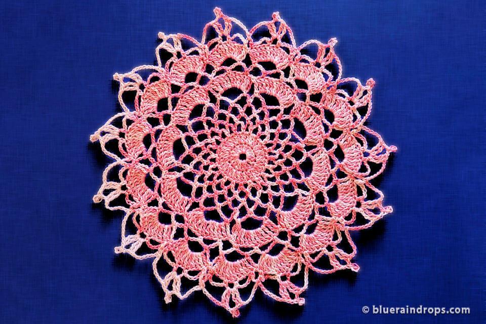 Crochet Happy Doily