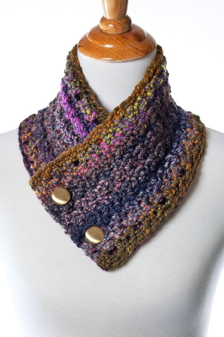 Crochet Helen Neckwarmer