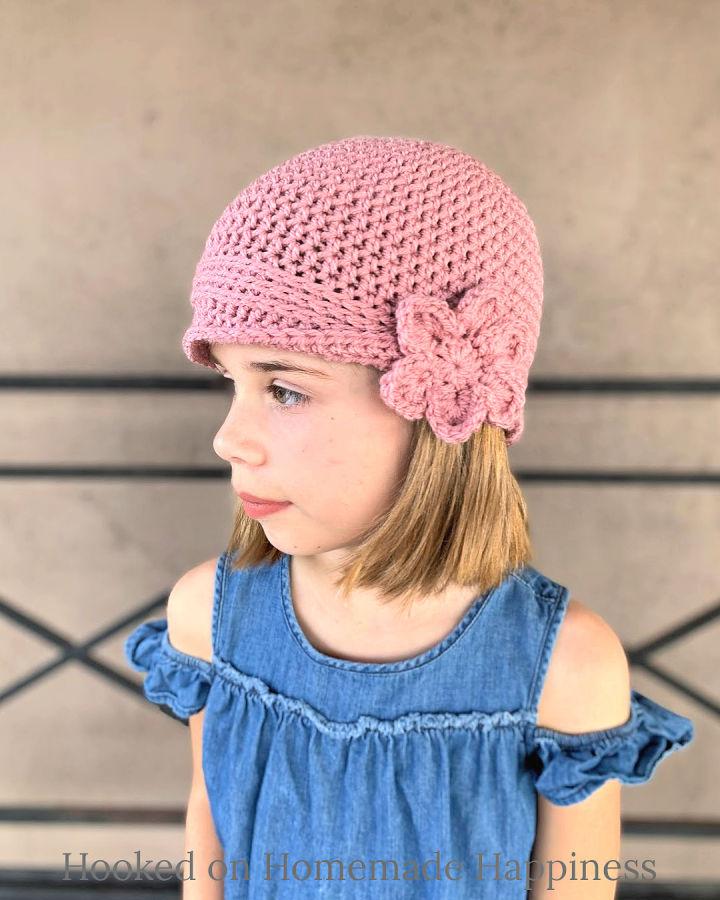 Crochet Kids Vintage Hat