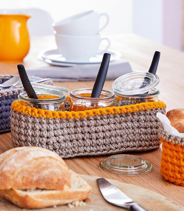 Crochet Multitasking Basket
