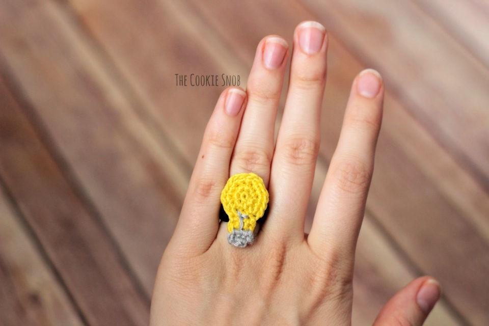 Crochet Remember Ring