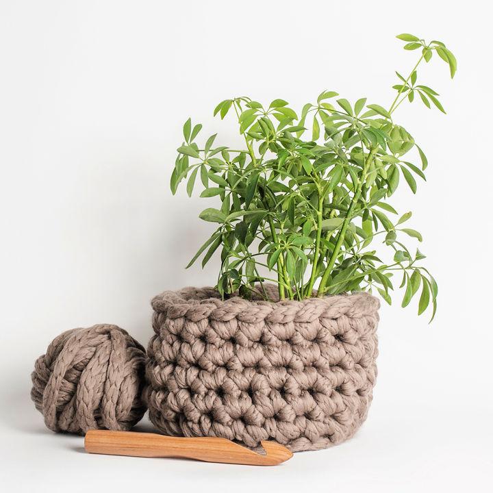 Crochet Rose Creek Basket