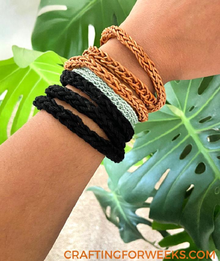 Crochet a Wrap Bracelet