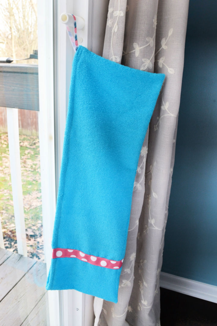 DIY Dog Paw Towel