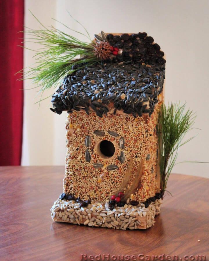 DIY Edible Birdhouse