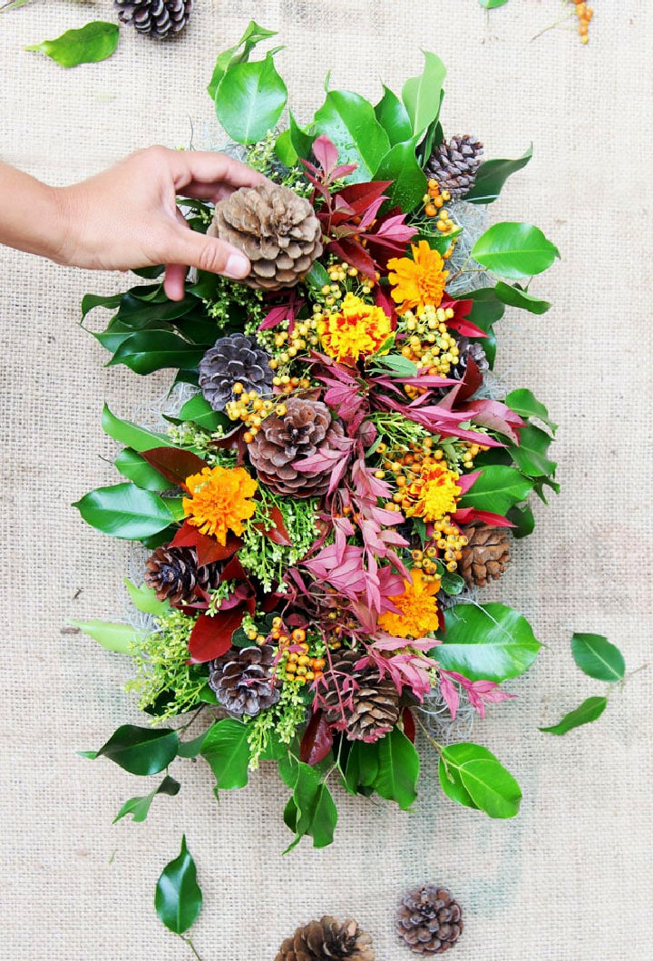 DIY Fall and Thanksgiving Centerpiece