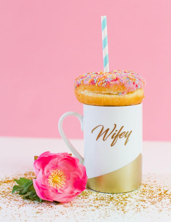 DIY Mug Gift for Wife