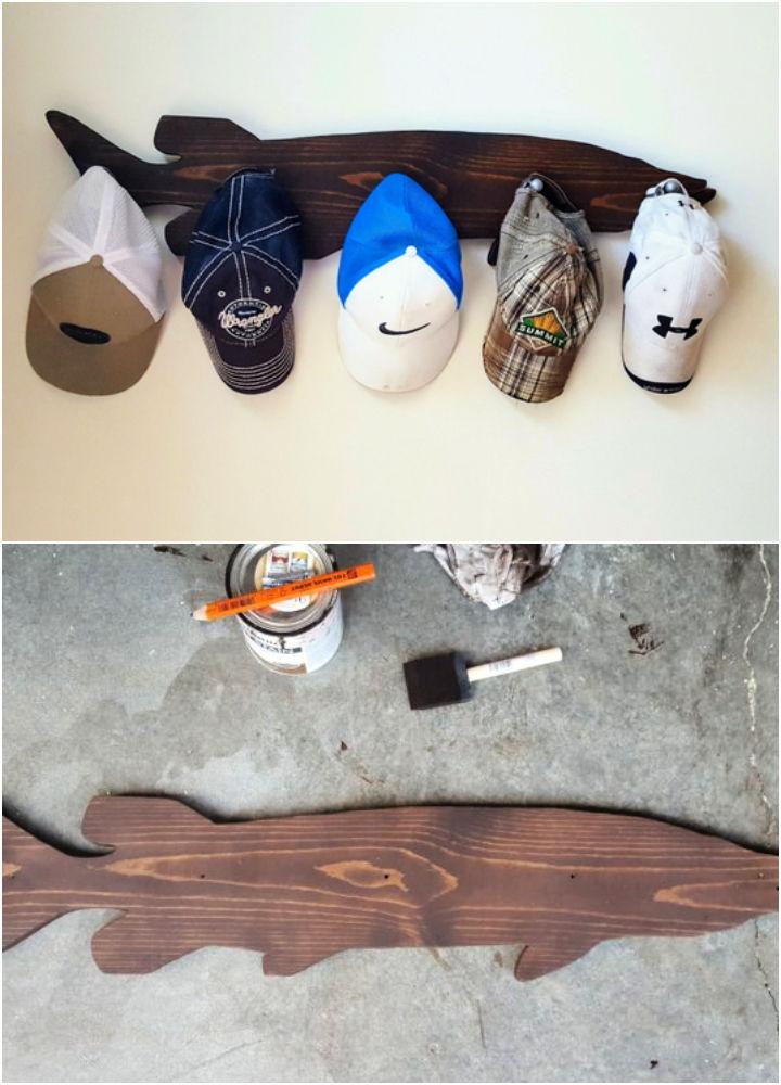 DIY Muskie Hat Rack