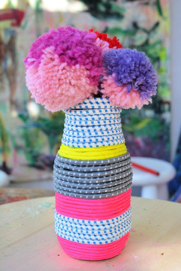 DIY Paracord Vase