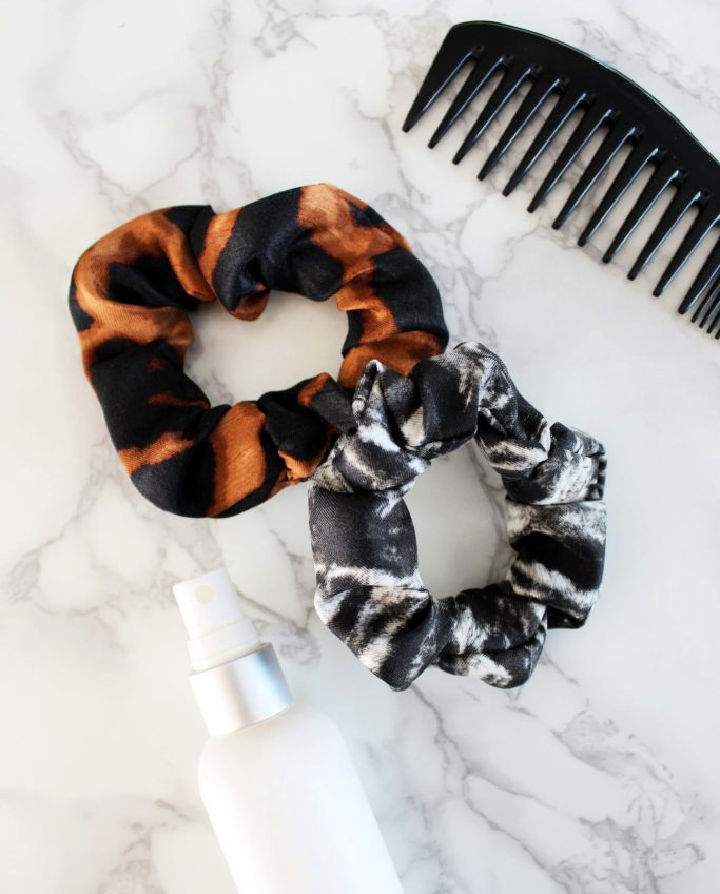 DIY Silk Scrunchie