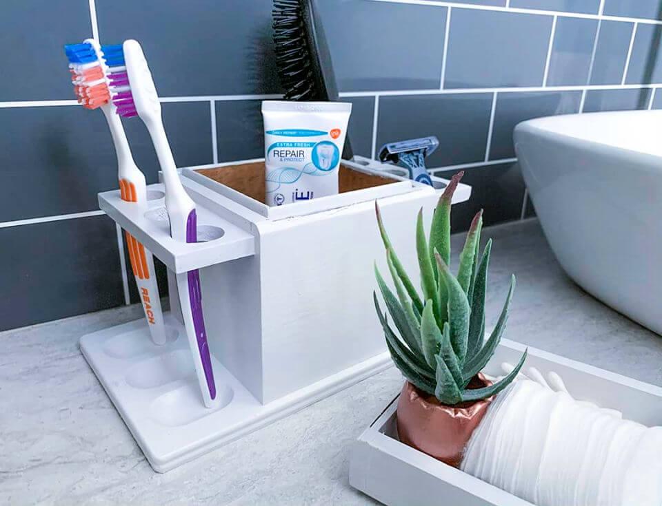 DIY Toothbrush Holder Under 10