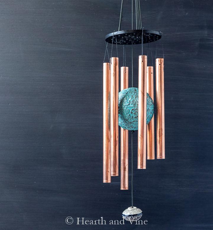 DIY Wind Chimes Copper Pipe